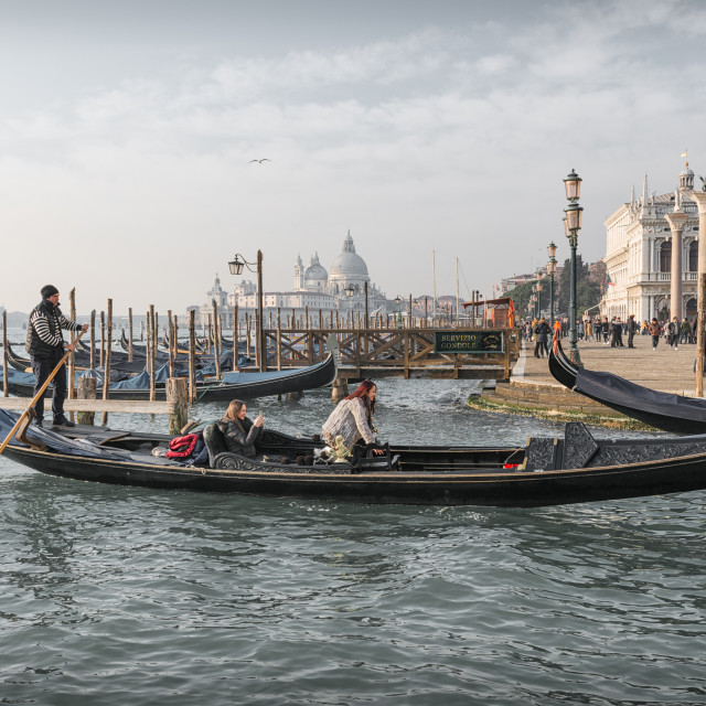 """A View Of Venice"" stock image"