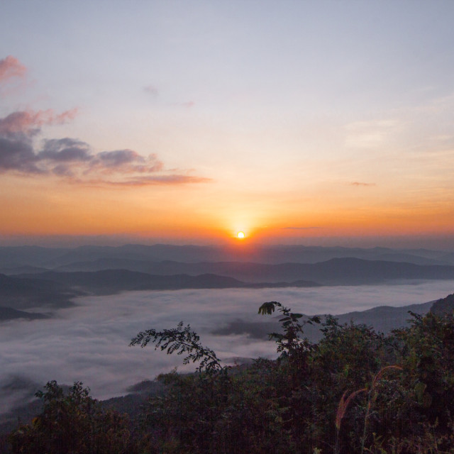 """Sun rise"" stock image"