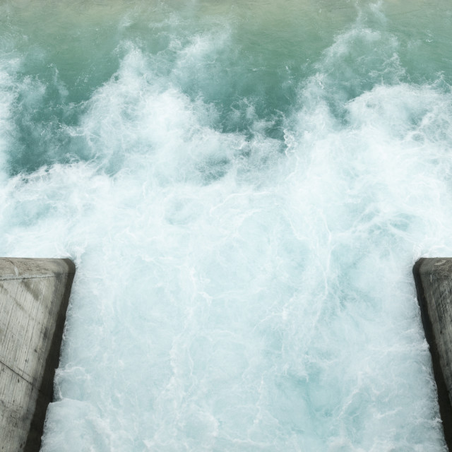 """Water Turbulence"" stock image"