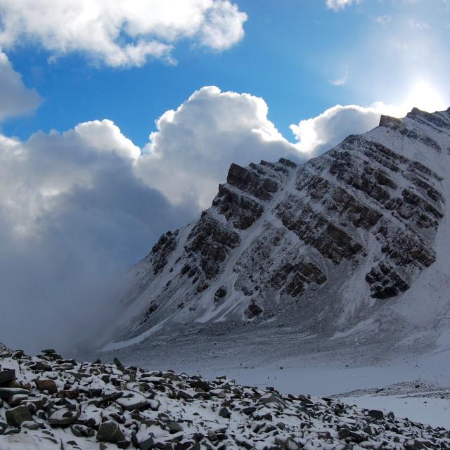 """""""Snow-Mountain"""" stock image"""