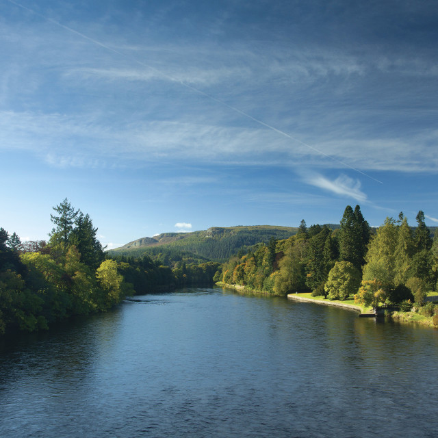 """""""River Tay"""" stock image"""