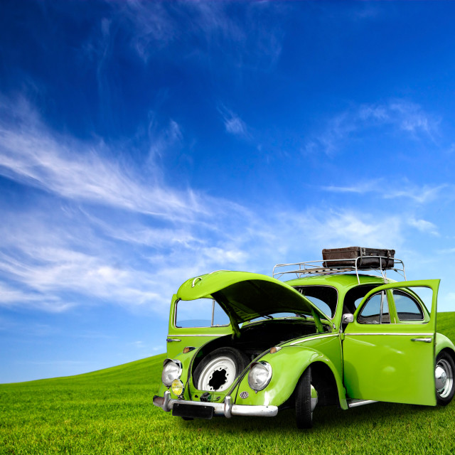 """Beetle Car"" stock image"