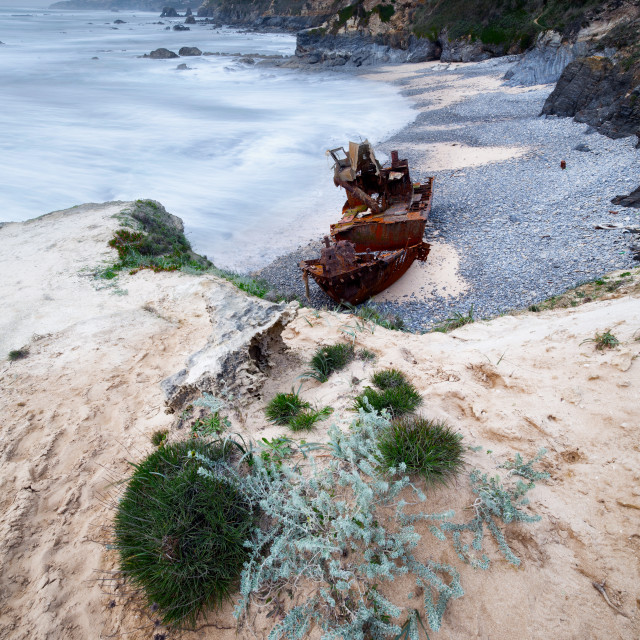 """rust boat"" stock image"