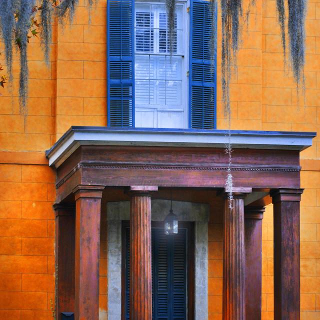 """Savannah House"" stock image"
