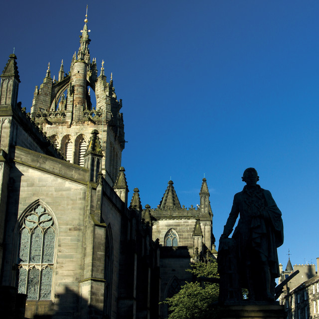 """""""St Giles Cathedral"""" stock image"""