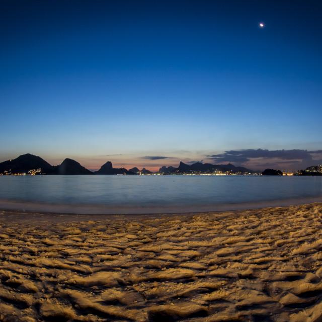 """""""Icarai Beach, Rio de Janeiro, Brazil"""" stock image"""