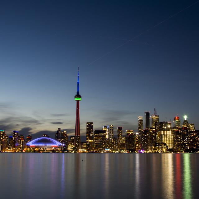 """Toronto Skyline"" stock image"