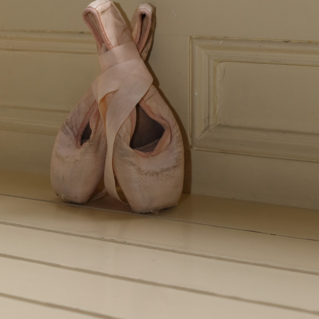 """""""Ballet shoes"""" stock image"""