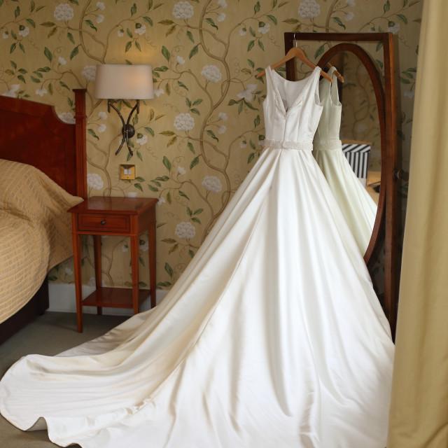 """Wedding dress"" stock image"