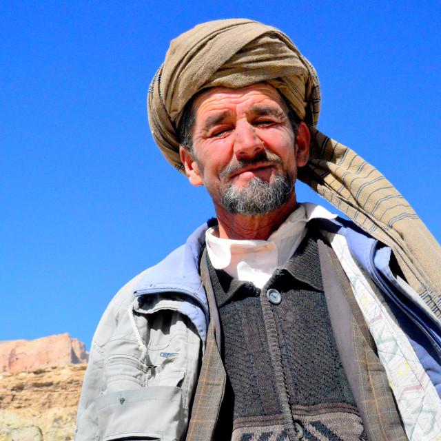 """Hazarajat Shepherd"" stock image"