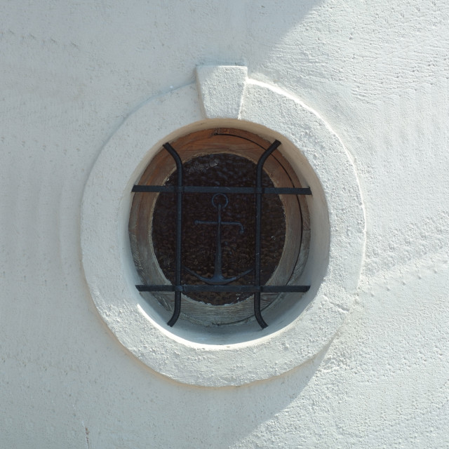 """Sailor's Window"" stock image"