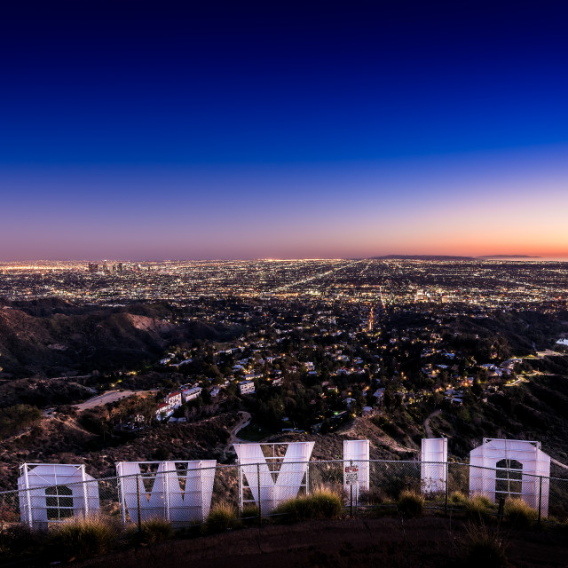 """""""City of Angels"""" stock image"""