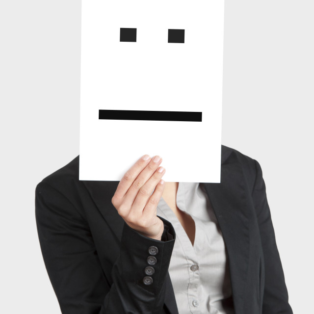 """""""Disappointed Face"""" stock image"""