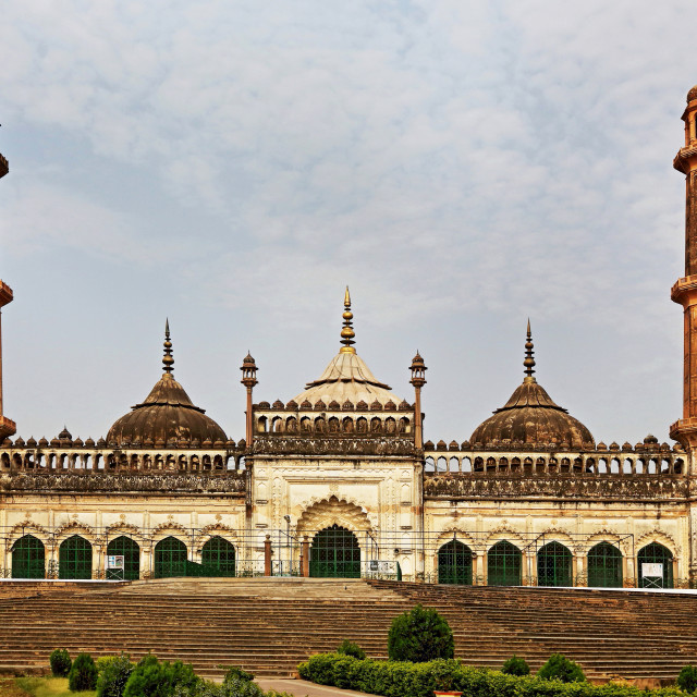 """Asfi Mosque Is Located Near The Imambara, Lucknow, Uttar Pradesh, India"" stock image"