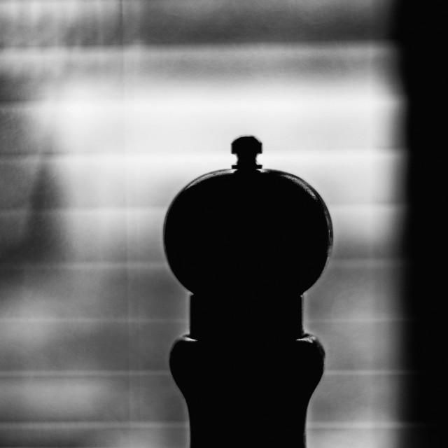 """""""Pepper grinder"""" stock image"""