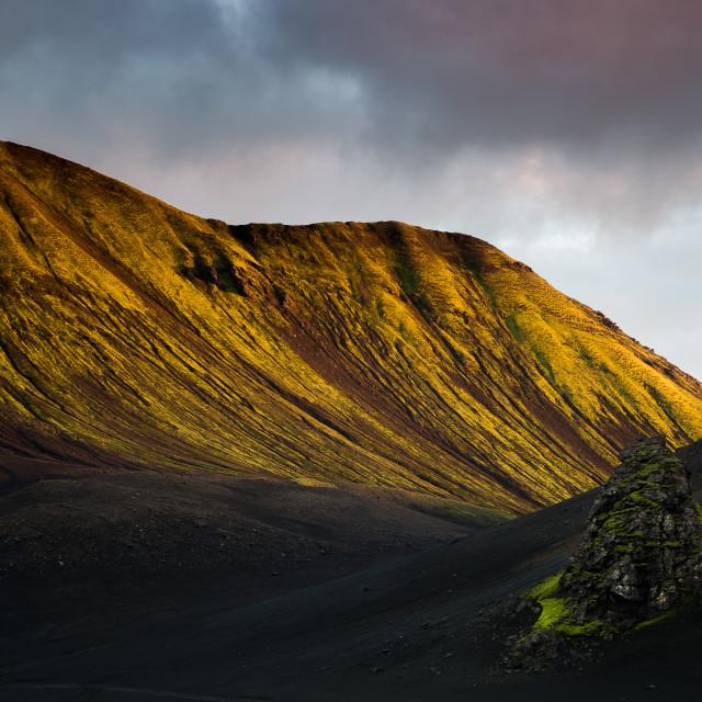 """""""Iceland,Highland"""" stock image"""