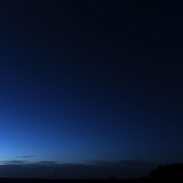 """""""Venus on horizon"""" stock image"""