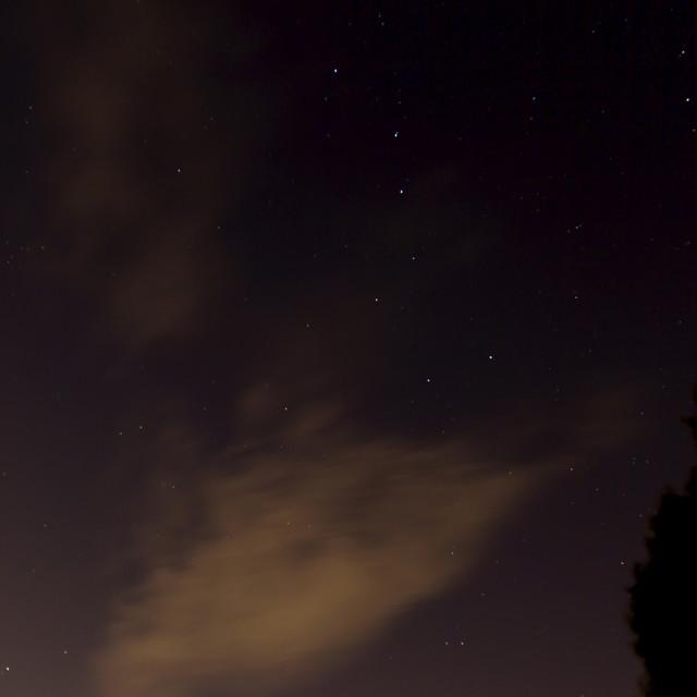 """""""clouds bear polaris"""" stock image"""
