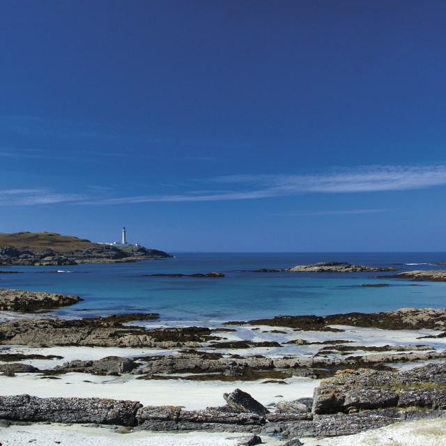 """Ardnamurchan Lighthouse"" stock image"