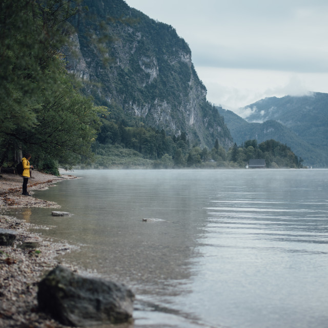 """Austrian lake"" stock image"