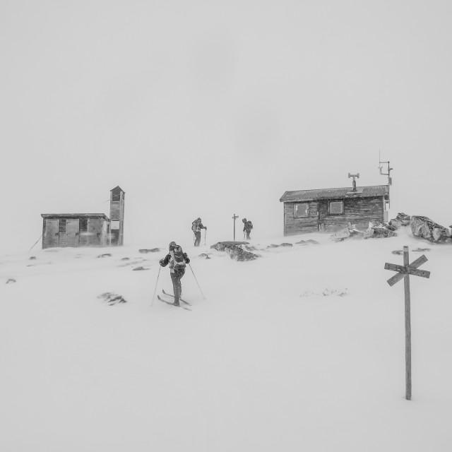 """Snowstorm"" stock image"