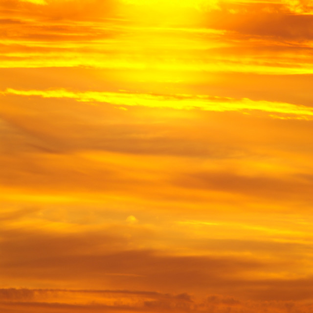 """""""Golden clouds"""" stock image"""