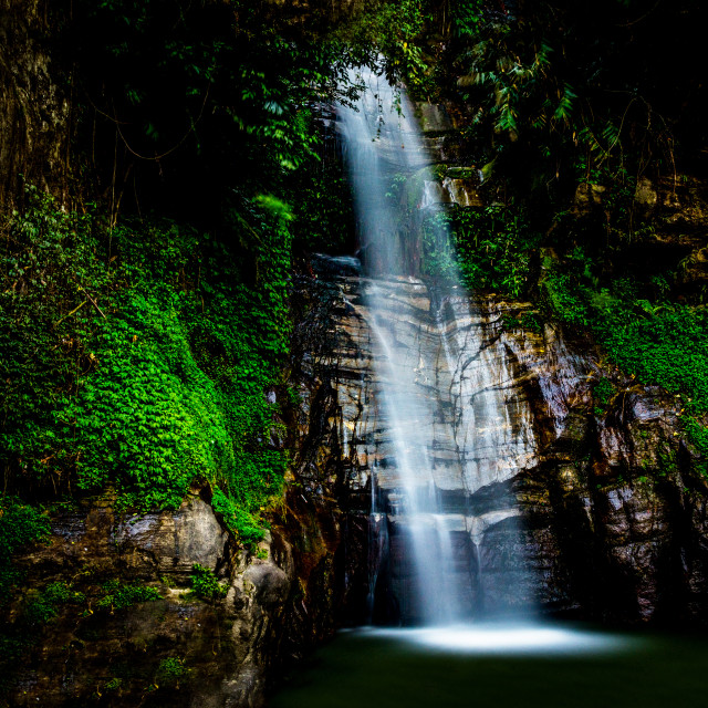 """Banjhakri Falls, Gangtok, India"" stock image"