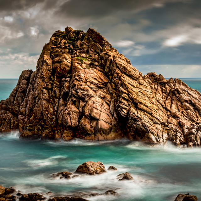 """Sugarloaf Rock, Dunsborough, Western Australia"" stock image"