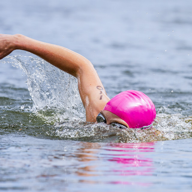 """Triathlon"" stock image"