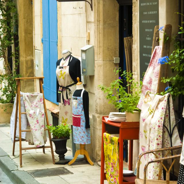 """Quaint French Shop."" stock image"