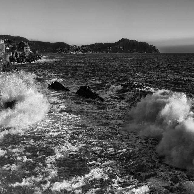 """sea storm"" stock image"