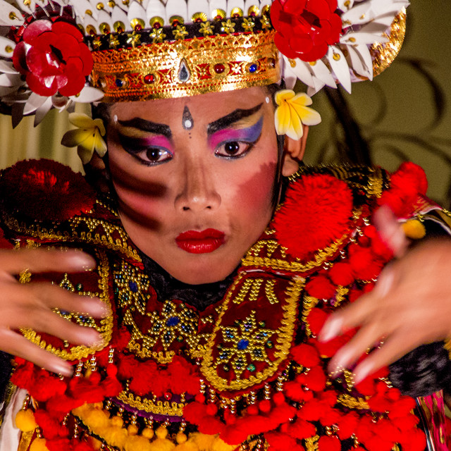 """Balinese Gambuh Dancer"" stock image"