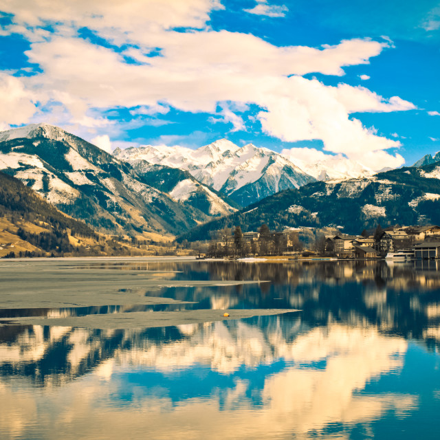 """Zell am See"" stock image"