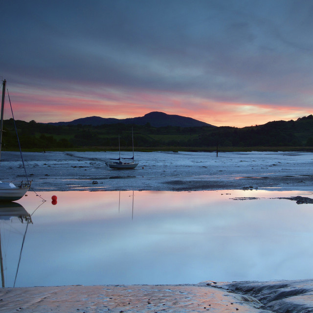 """Kippford"" stock image"