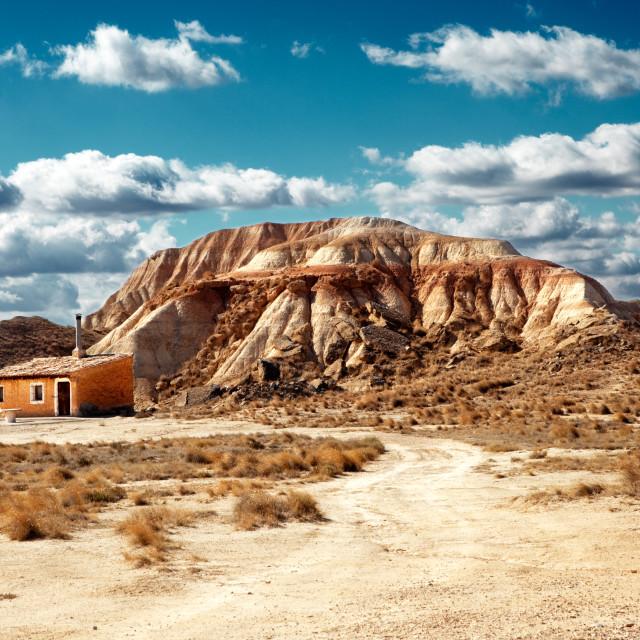 """""""Desert landscape"""" stock image"""