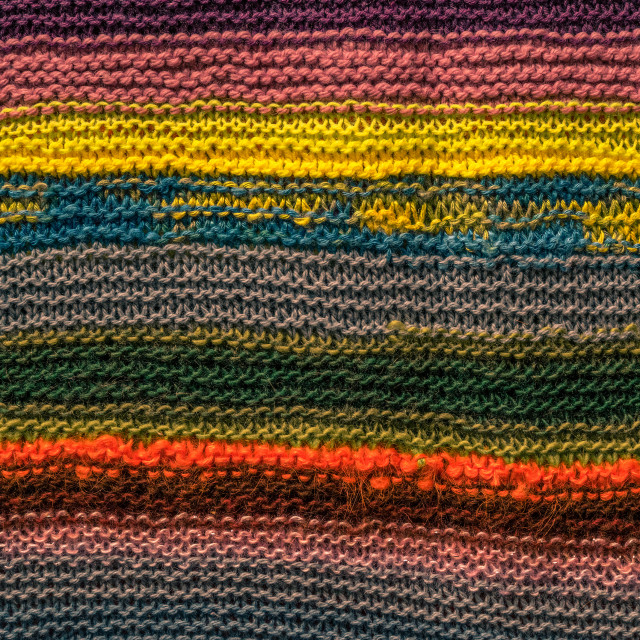 """Colorful knitwear pattern"" stock image"