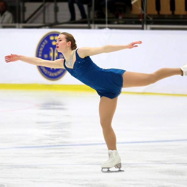 """Cecilia Frydén SWE"" stock image"