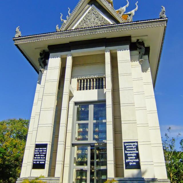 """Stupa, Cambodia"" stock image"