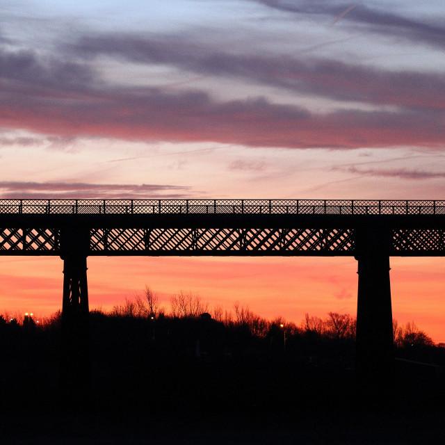 """""""Bennerley viaduct"""" stock image"""