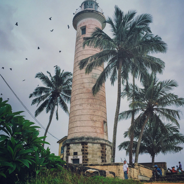 """Galle Lighthouse"" stock image"