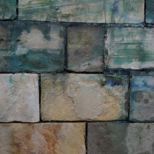 """Detail of brickwork"" stock image"