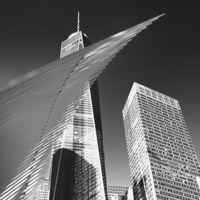 """Number One World Trade Centre"" stock image"