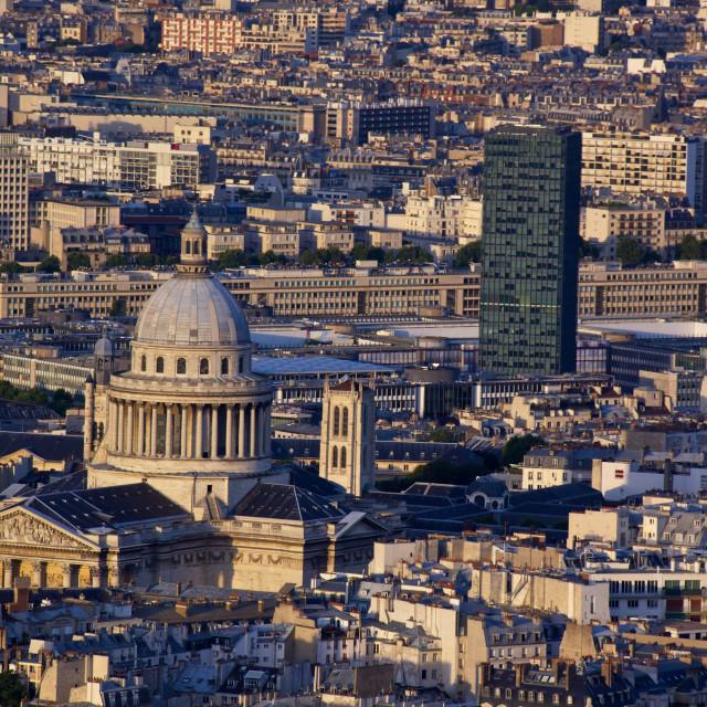 """""""Paris Latin quarter"""" stock image"""