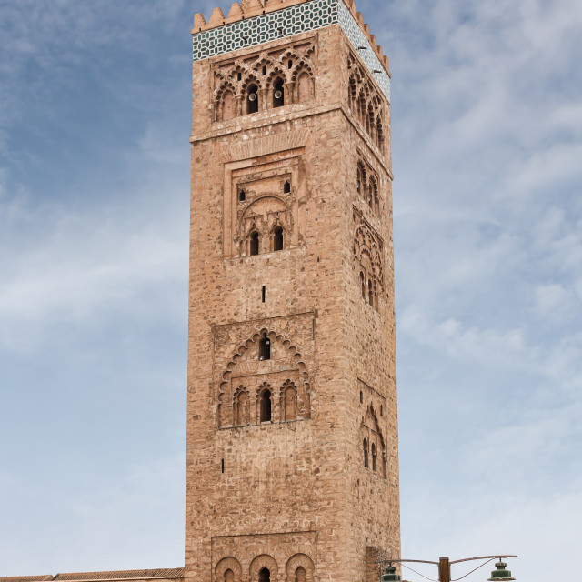 """Koutoubia Minaret in Marrakech"" stock image"