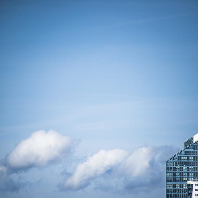 """sky city"" stock image"
