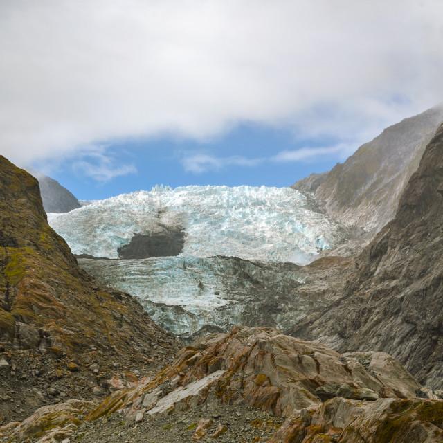 """Franz Josef Glacier"" stock image"