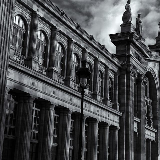 """""""Gare De Nord"""" stock image"""