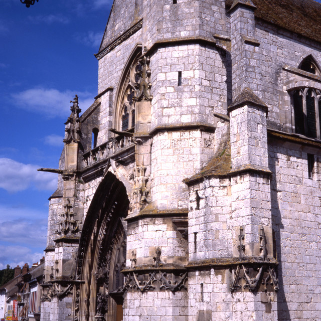 """""""Moret Cathedral"""" stock image"""