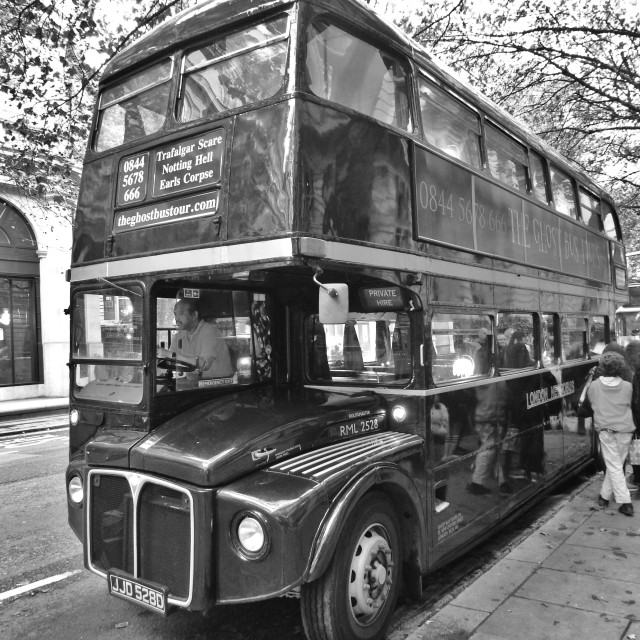 """Routemaster Bus"" stock image"