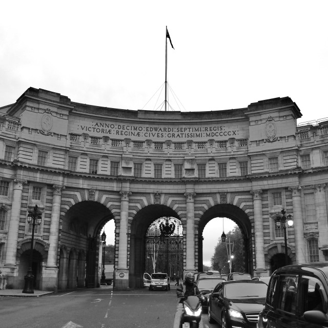 """""""Admiralty Arch"""" stock image"""
